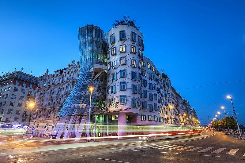 Maison dansante de Frank Ghery à Prague