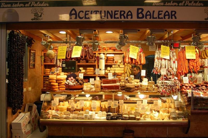 Mercat de l'olivar, weekend à Palma de Majorque