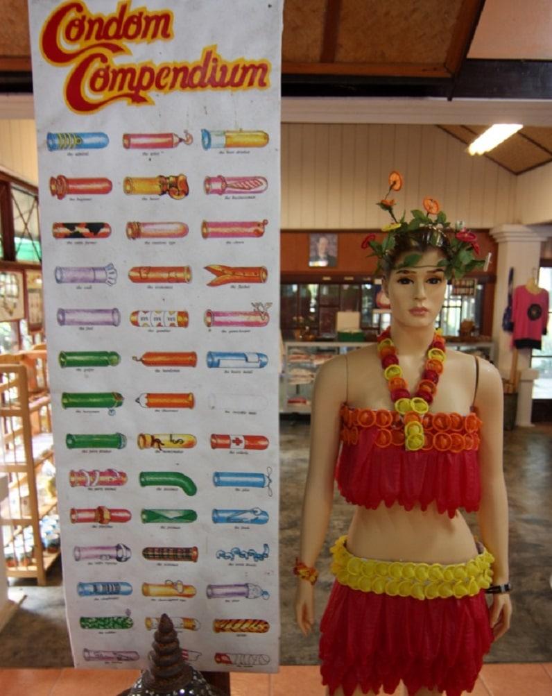 Musée insolite: musée préservatif Bangkok