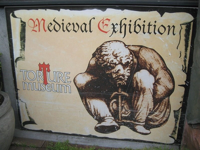 Musée insolite: musée torture Amsterdam