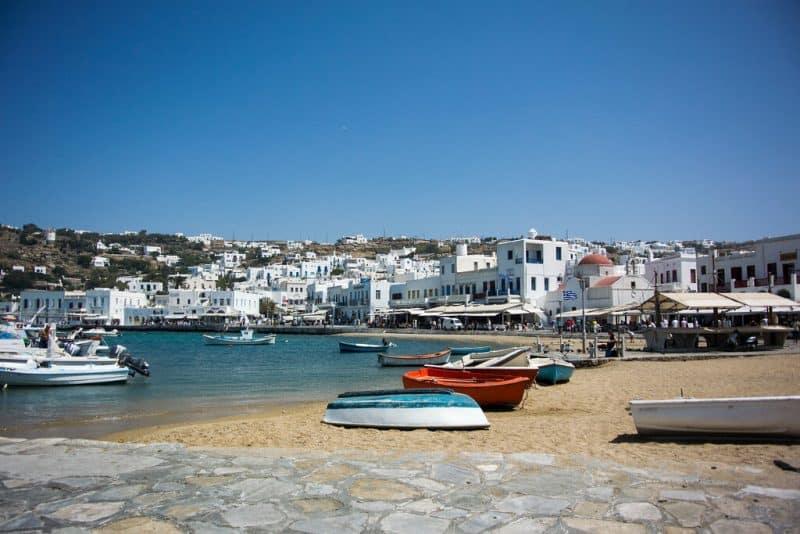 Port de Mykonos, Chora