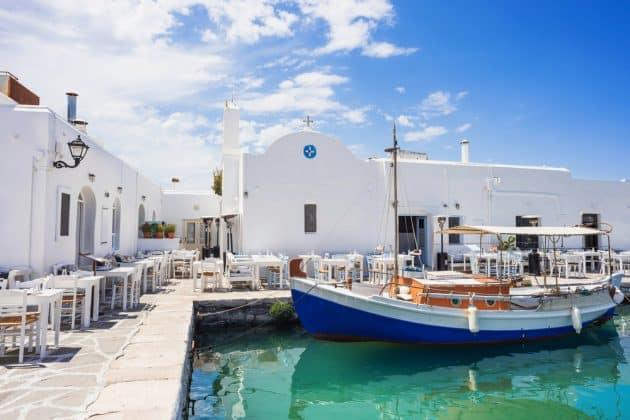 Transfert entre l'aéroport de Paros et le reste de l'île