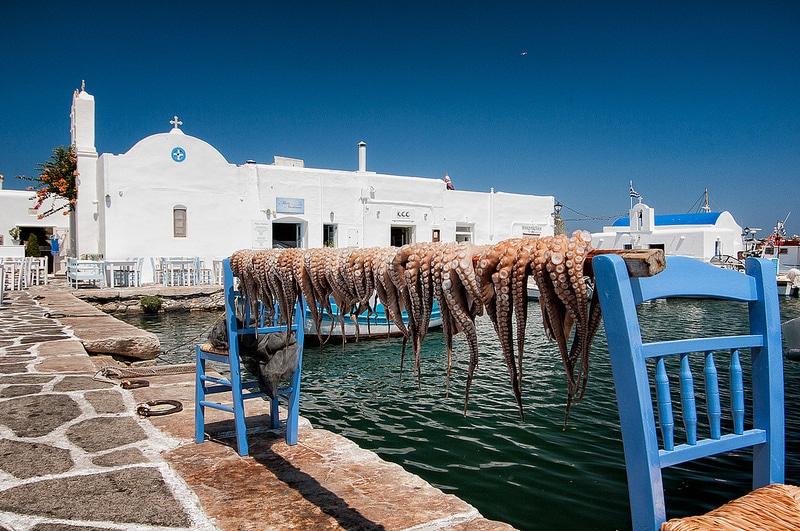 Naoussa, visiter Paros