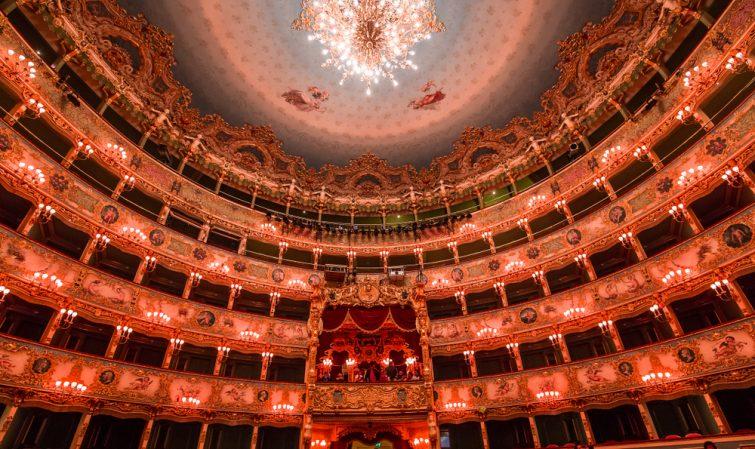 Visiter opéra La Fenice Venise