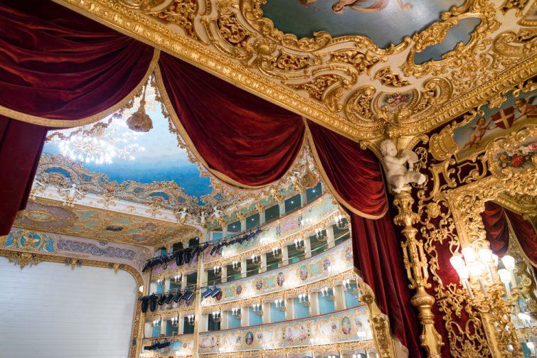 Opéra Fenice intérieur