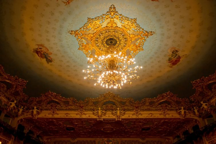 Opéra Fenice Lustre