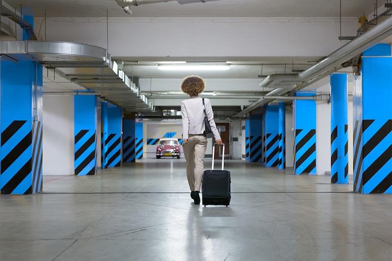 Parking à l'Aeroport de Nantes