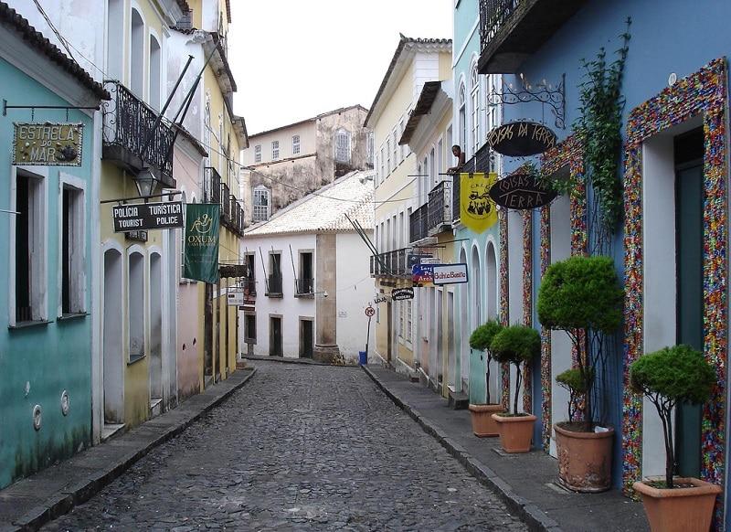 Pelourinho, loger à Salvador