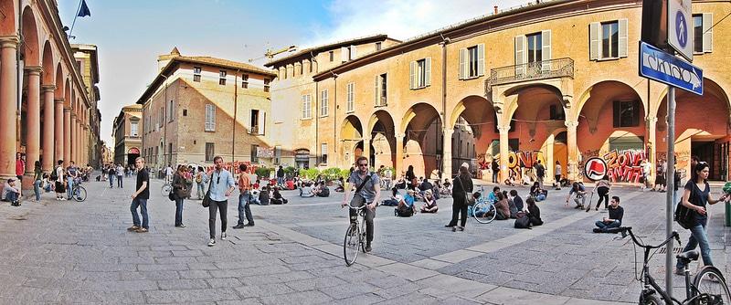 Piazza Verdi, loger à Bologne