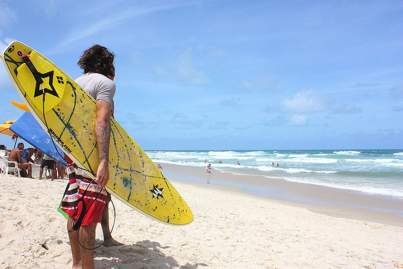 Praia do futuro, loger à Fortaleza