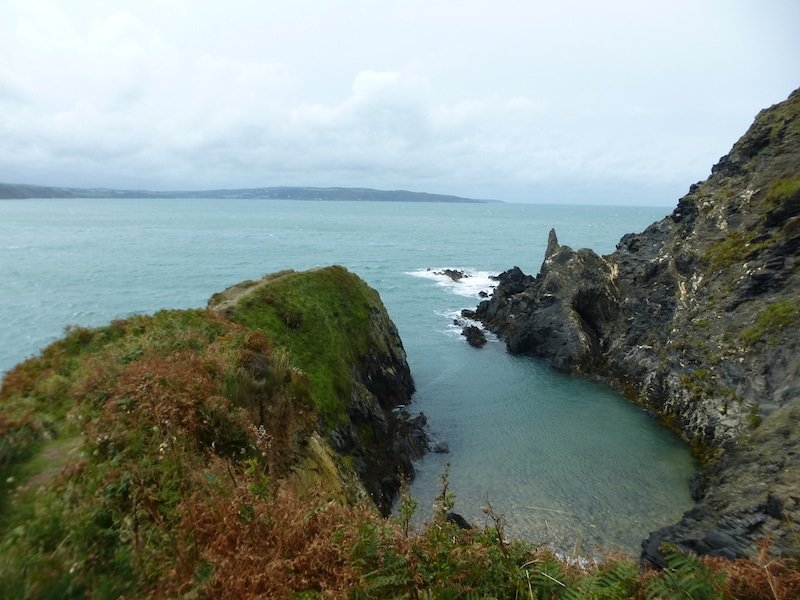 Randonnées au Pays de Galle, Dinas Head