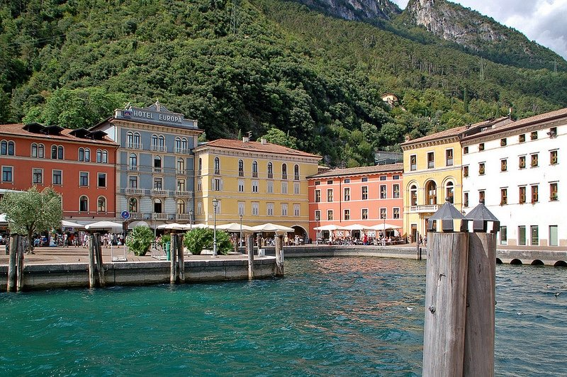 Riva del Garda, loger autour du lac de Garde
