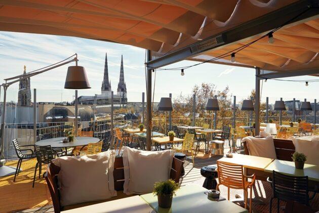 Les 4 meilleurs rooftops où boire un verre à Bordeaux !