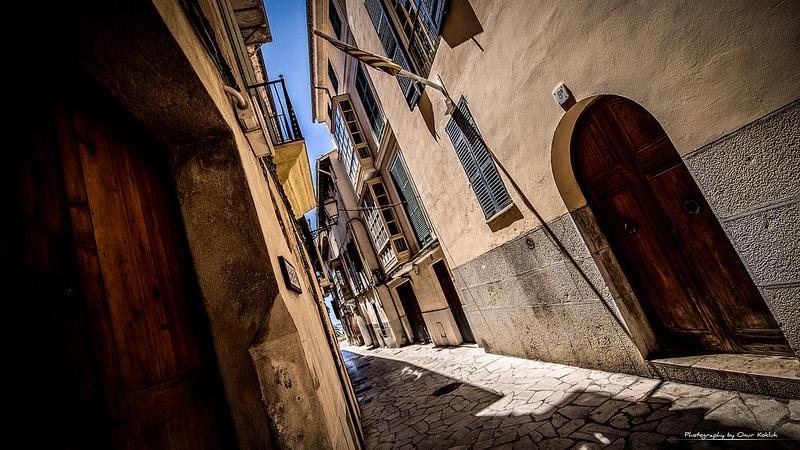 Rue Palma de Majorque, Espagne