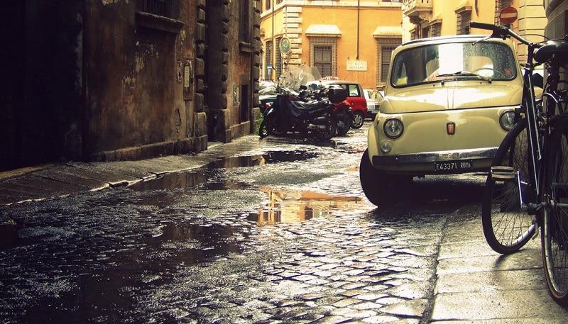 Rue de Rome où garer sa voiture, parking