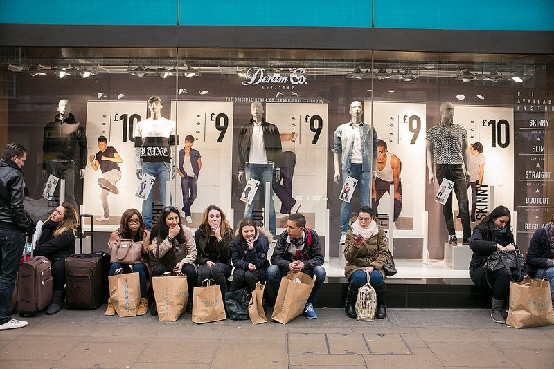 Shopping à Londres sur Oxford Street