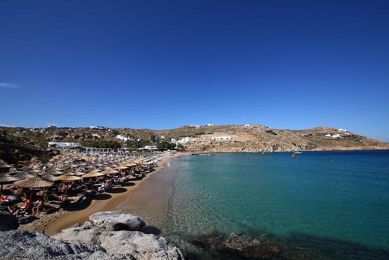 Plage Super Paradise, Mykonos