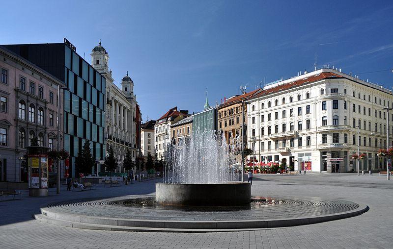 Visiter Brno, Namesti Svobody