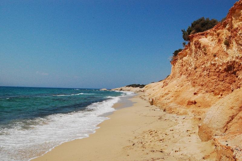 Les 7 choses à faire à Naxos, Plage