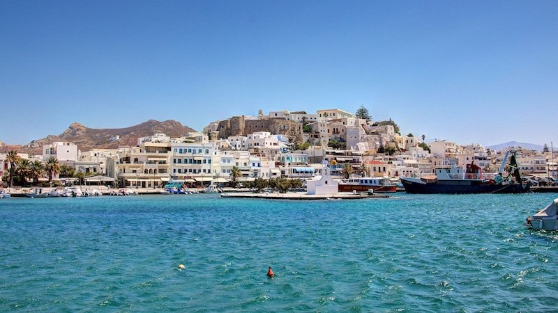 Les 7 choses à faire à Naxos, Chora