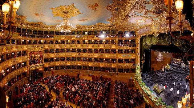 Visiter l'Opéra La Fenice à Venise