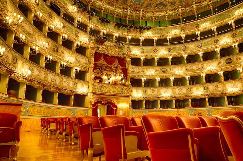 Visiter le Théâtre Fenice à Venise