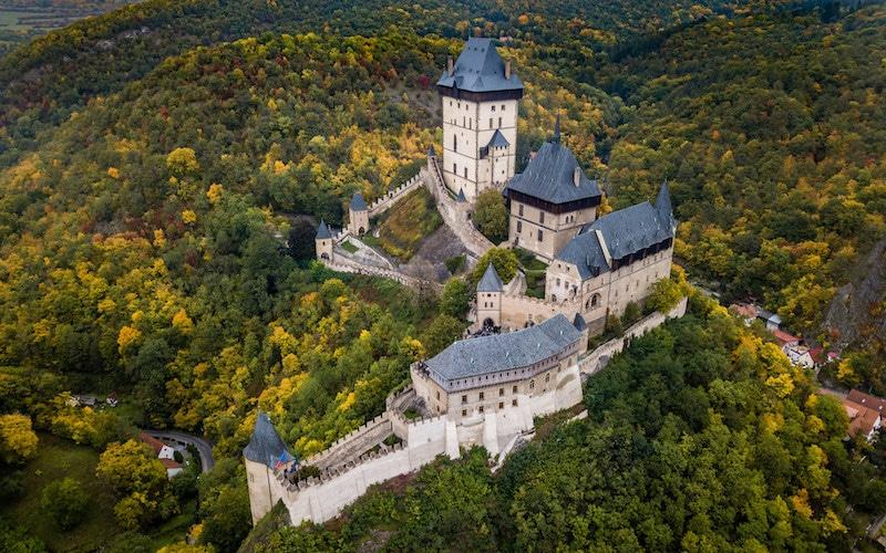 Visitez Karlstejn depuis Prague