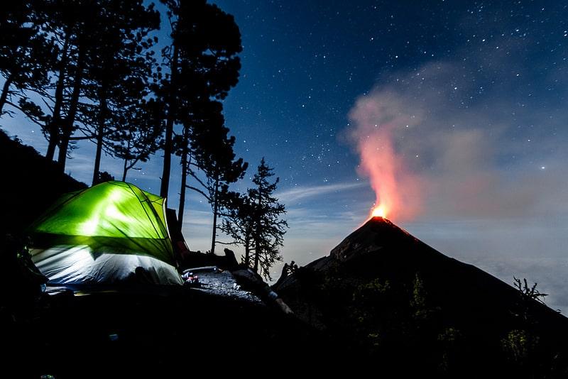 Volcan Acatenango, Guatemala