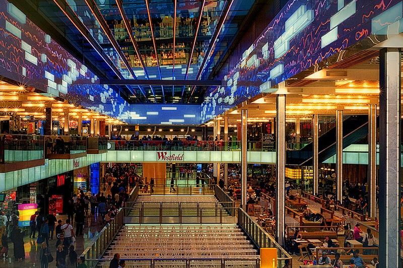 Westfield, shopping à Londres