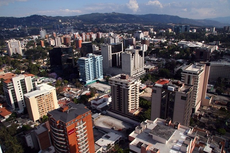 Zona 10, loger à Guatemala City