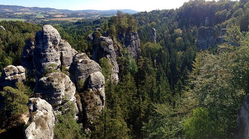 Plus beaux endroits Republique tchèque, Český ráj