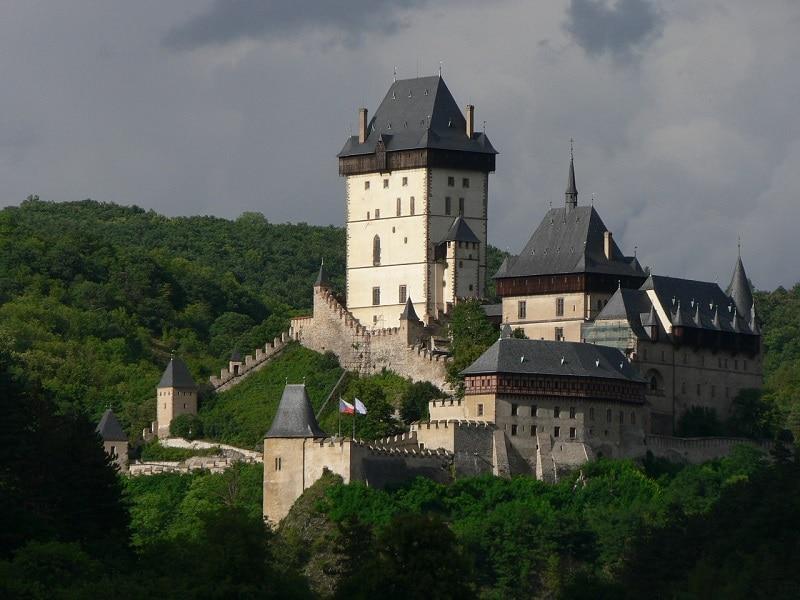 Plus beaux endroits République tchèque, Château de Karlštejn