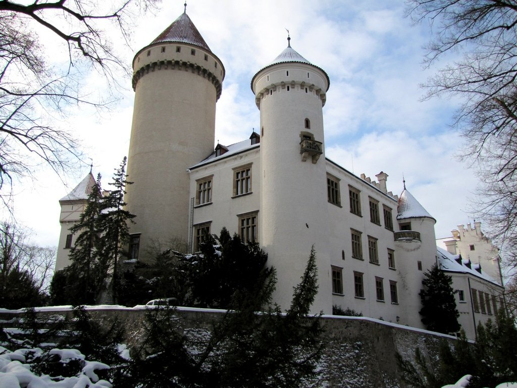 Plus beaux endroits République tchèque, Château de Konopiště