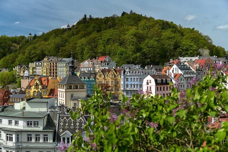 Plus beaux endroits République tchèque, Karlovy Vary