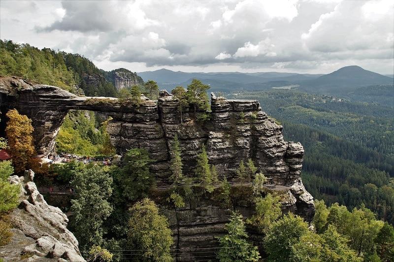 Plus beaux endroits République tchèque, Pravčice Porte Suisse Tchèque