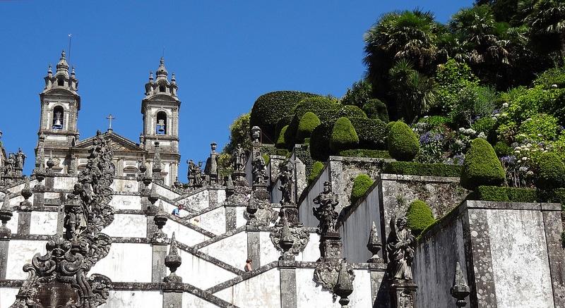 Les plus beaux endroits à visiter au Portugal, Sanctuaire de Bom Jesus Do Monte