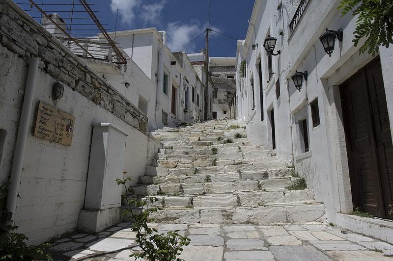 Apiranthos, lodging in Naxos