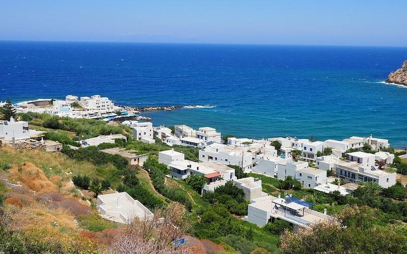 Apollonas, loger à Naxos