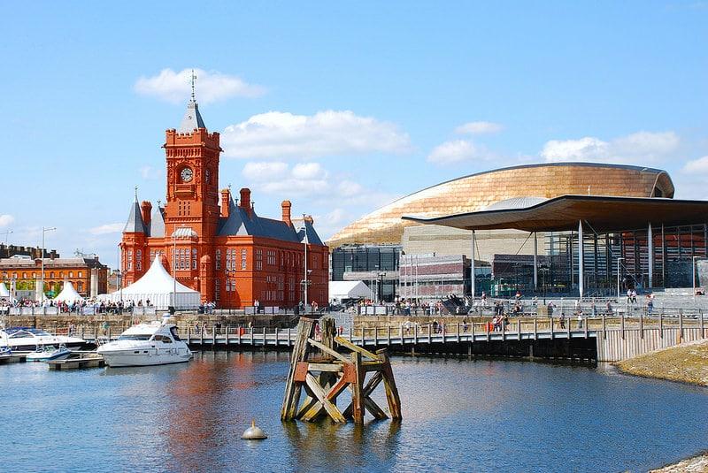 Baie de Cardiff, loger à Cardiff