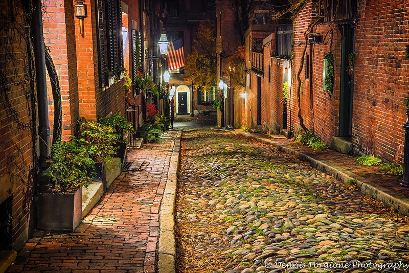 Beacon Hill, loger à Boston