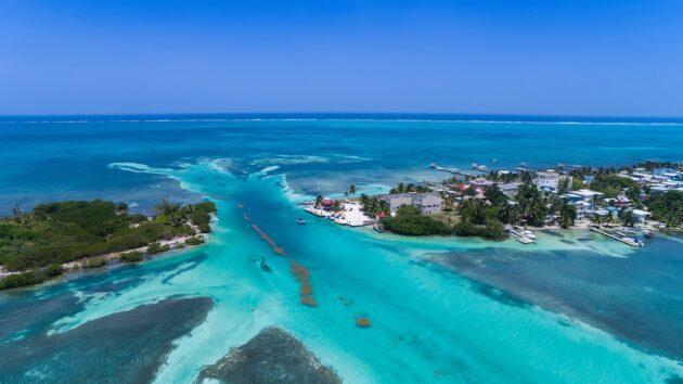Sur quelle île loger au Belize ?