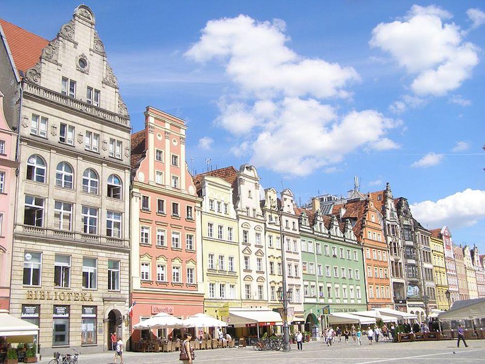 1 semaine à Wroclaw en Pologne pour seulement 131€ !