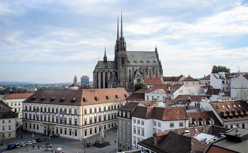 Plus beaux endroits Republique tchèque, Brno