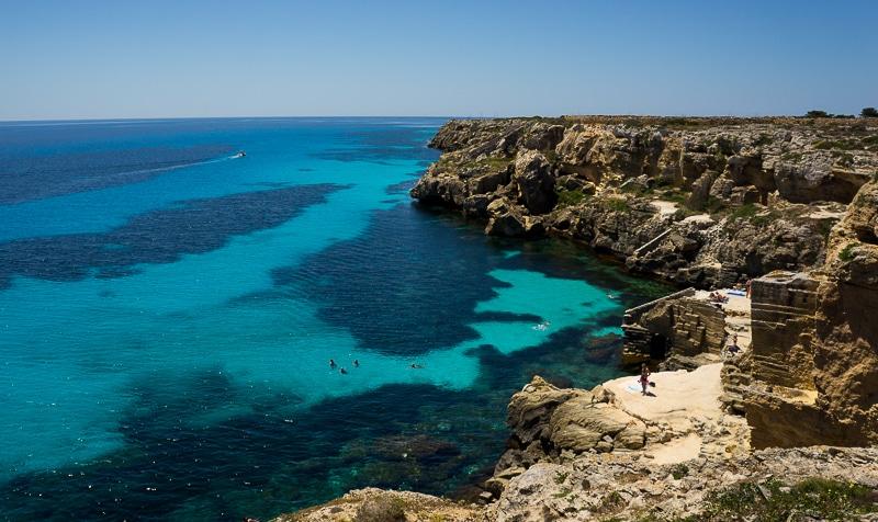 Les plages de Sicile où se baigner sans aucun touriste, Bue Marino