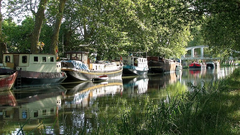 croisi re sur le canal du midi que faire sur le trac du canal. Black Bedroom Furniture Sets. Home Design Ideas