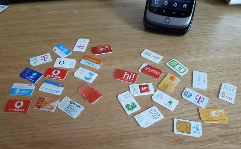 Acheter une carte SIM locale en voyage