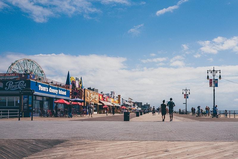 Coney Island, loger à Brooklyn