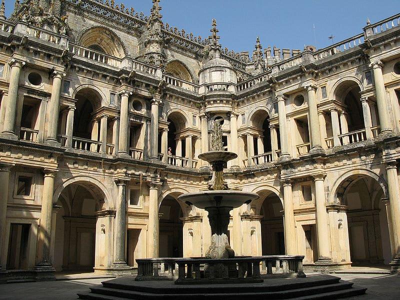 Les plus beaux endroits à visiter au Portugal, Le Couvent du Christ