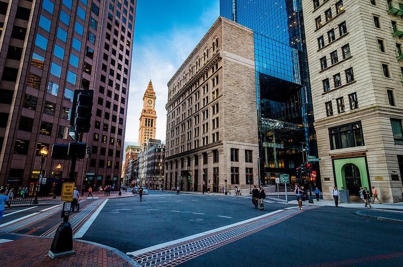Downtown, loger à Boston