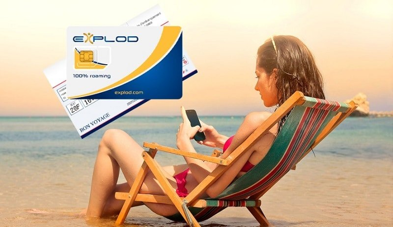 Explod, carte SIM internationale